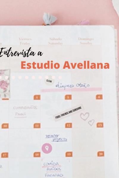 Organización y creatividad con mucho mimo: entrevista a Sara de Estudio Avellana