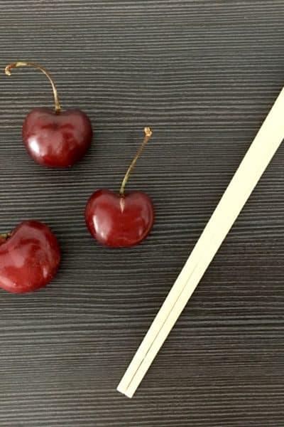 Lo necesario para deshuesar cerezas