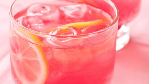 Bebida isotónica en casa