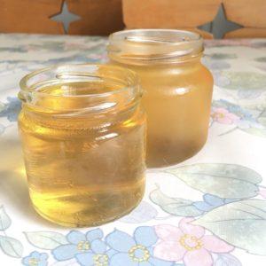 Gelatina de zumo de manzana