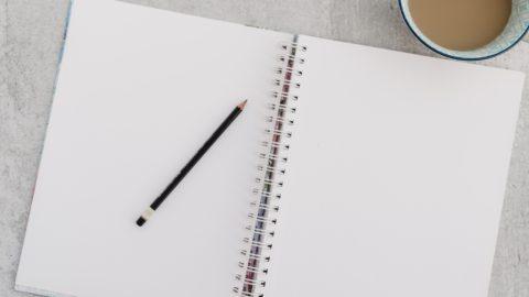 Diario personal en blanco