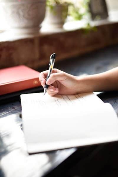 Beneficios de escribir diario
