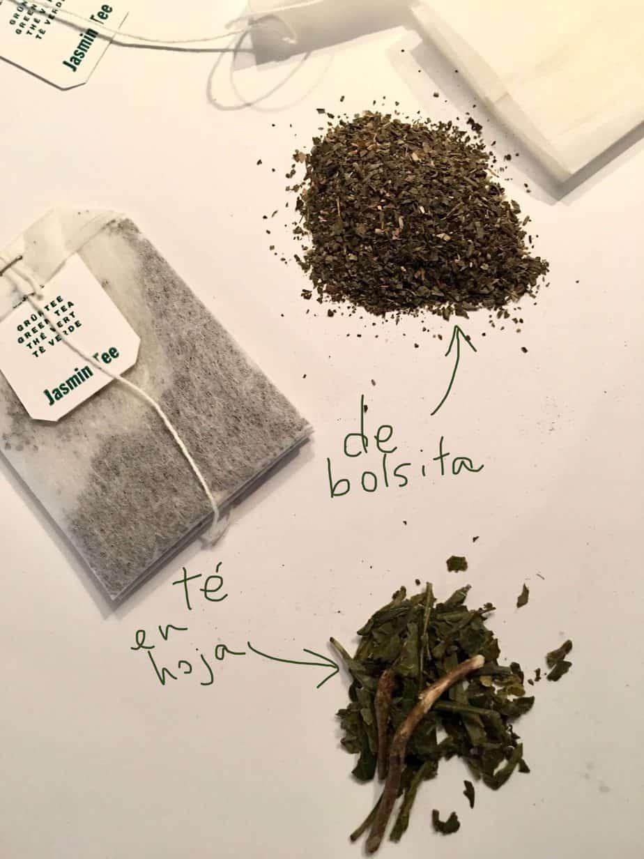 Cómo hacer hojicha con té verde de bolsita
