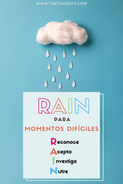 Meditación RAIN