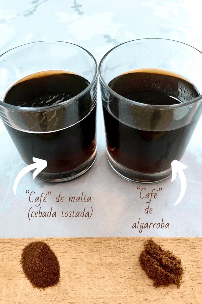 Sucedáneos de café: café de cebada y de algarroba