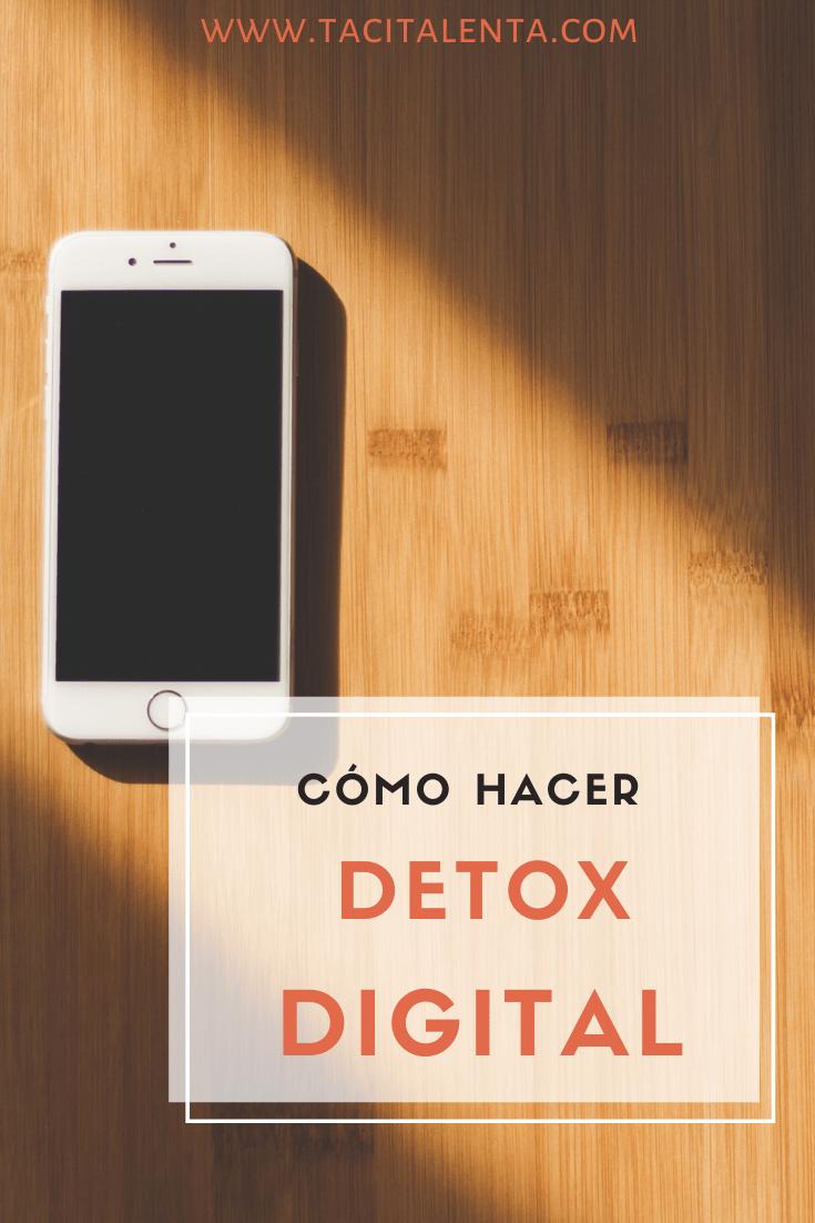 """Consejos para hacer """"detox"""" digital"""