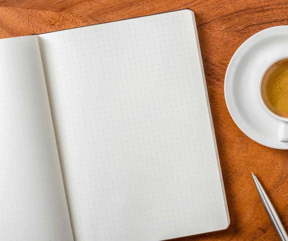 Cómo elegir la libreta perfecta para escribir diario: libreta con puntos