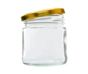 Frasco de cristal para hacer espuma de leche