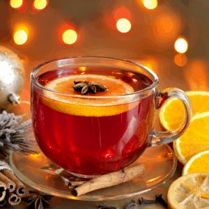 Ponche de navidad sin alcohol