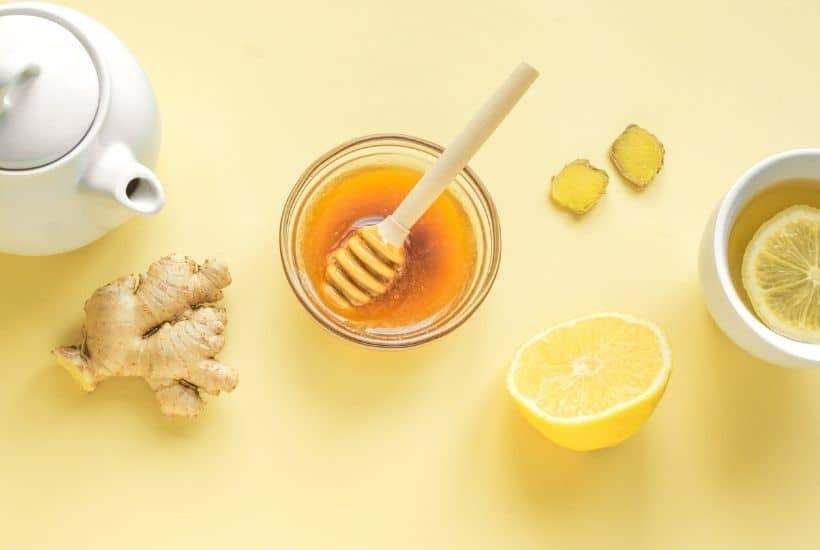 Miel, limón y jengibre
